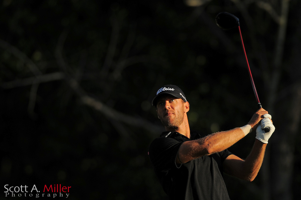 Graham DeLaet during the second round of the Transitions Championship on the Cooperhead Course at Innisbrook Resort and Golf Club on March 16, 2012 in Palm Harbor, Fla. ..©2012 Scott A. Miller.