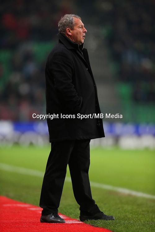 Rolland COURBIS - 06.12.2014 - Rennes / Montpellier - 17eme journee de Ligue 1 -<br />Photo : Vincent Michel / Icon Sport