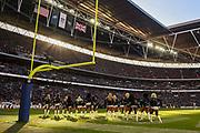 Cheerleaders during the International Series match between Jacksonville Jaguars and Philadelphia Eagles at Wembley Stadium, London, England on 28 October 2018.
