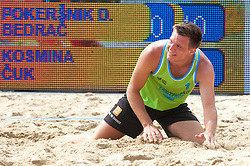 Martin Kosmina at Beach Volleyball Challenge Ljubljana 2014, on August 1, 2014 in Kongresni trg, Ljubljana, Slovenia. Photo by Matic Klansek Velej / Sportida.com