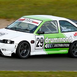 KNOCKHILL Scottish Motor Racing Club meeting.Robert Drummond in his Escort Cosworth..(c) STEPHEN LAWSON | StockPix.eu
