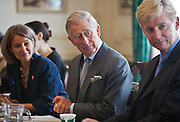 HRH The Prince of Wales meets International winners at Clarence House