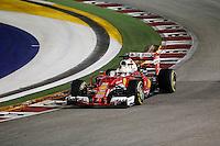 Singapore - 18.09.2016 - Formula 1 Gran Premio di Singapore - Nella foto: Sebastian Vettel - Ferrari  SF16-H - Formula 1