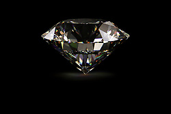 Diamond against black background (Credit Image: © Image Source/Bjoern Holland/Image Source/ZUMAPRESS.com)