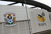 The Ricoh Arena prior the EFL Sky Bet League 1 match between Coventry City and AFC Wimbledon at the Ricoh Arena, Coventry, England on 28 September 2016. Photo by Stuart Butcher.