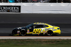 July 21, 2018 - Loudon, NH, U.S. - LOUDON, NH - JULY 21: Kyle Weatherman, Monster Energy NASCAR Cup Series driver of the StarCom Fiber Chevrolet (99), during practice for the Foxwoods Resort Casino 301 on July 21, 2018, at New Hampshire Motor Speedway in Loudon, New Hampshire. (Photo by Fred Kfoury III/Icon Sportswire) (Credit Image: © Fred Kfoury Iii/Icon SMI via ZUMA Press)