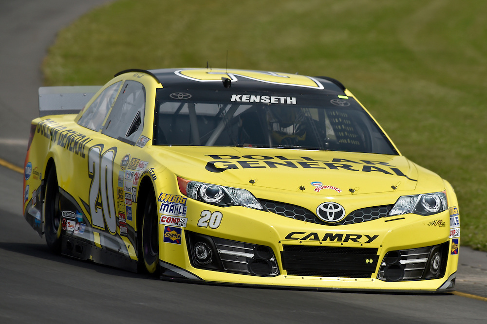1-3 August, 2014, Long Pond, Pennsylvania USA<br /> Matt Kenseth, Dollar General Toyota Camry<br /> &copy;2014, Scott R LePage <br /> LAT Photo USA