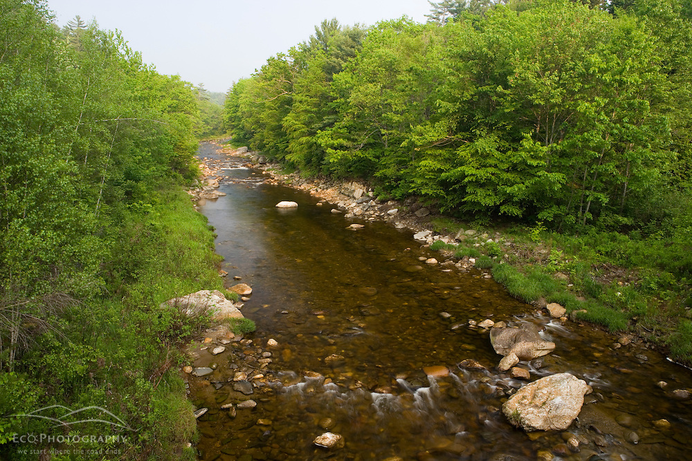 The Ashuelot River in Gilsum New Hampshire USA