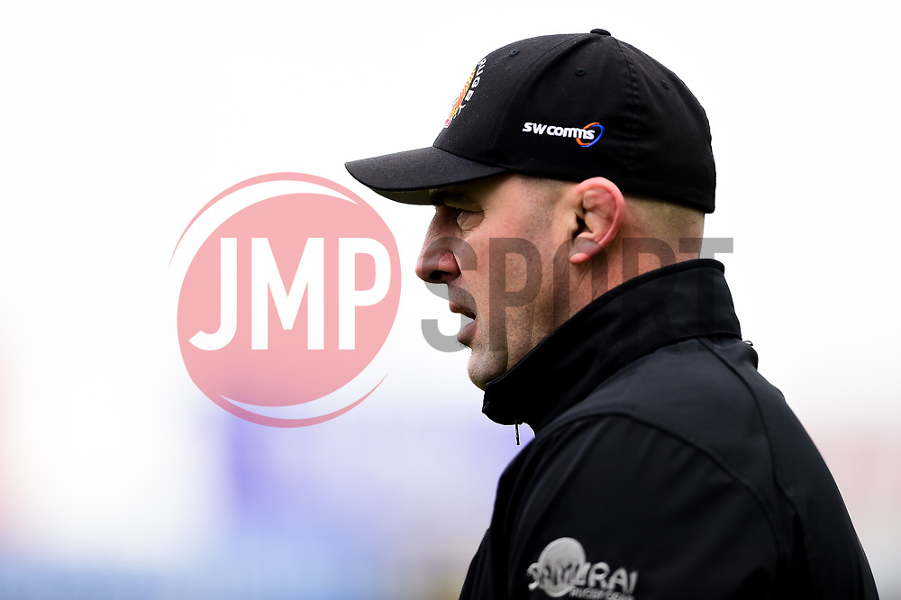 Tony Walker prior to kick off - Mandatory by-line: Ryan Hiscott/JMP - 14/04/2019 - RUGBY - Sandy Park - Exeter, England - Exeter Chiefs v Wasps - Gallagher Premiership Rugby