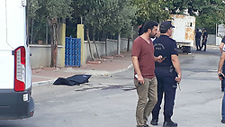 "September 6, 2017 - Mersin, Turkey - September 06, 2017 - Mersin, Turkey - Police shot and killed a would-be suicide bomber on Sept. 6, preparing to attack a police station near the regional National Intelligence Organization (MÄ°T) base in the southern province of Mersin, Turkey. Mersin Chief Public Prosecutor Mustafa Ercan said a would-be suicide bomber was shot during an armed clash with security forces at the 50. Yıl Police Station in the YeniÅŸehir district. He added that authorities were elaborating on the assumption that he might have been a member of the Islamic State of Iraq and the Levant (ISIL). ""A suicide vest was also seized on the militant,"" he said. In a separate incident, the Mersin Governor's Office said in a statement that a male suspect had approached 50 meters to the police station, refusing to obey stop warnings. He was later shot after putting his hand on a cable dangling from his shoulder, it said. (Credit Image: © Dha - Depo Photos/Depo Photos via ZUMA Wire)"