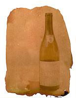 En flaske med rødvin fra Hellstrøm.<br /> Foto: Svein Ove Ekornesvåg