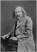 Dmitiri Ivanovich Mendeleyev (1834-1907), Russian chemist.