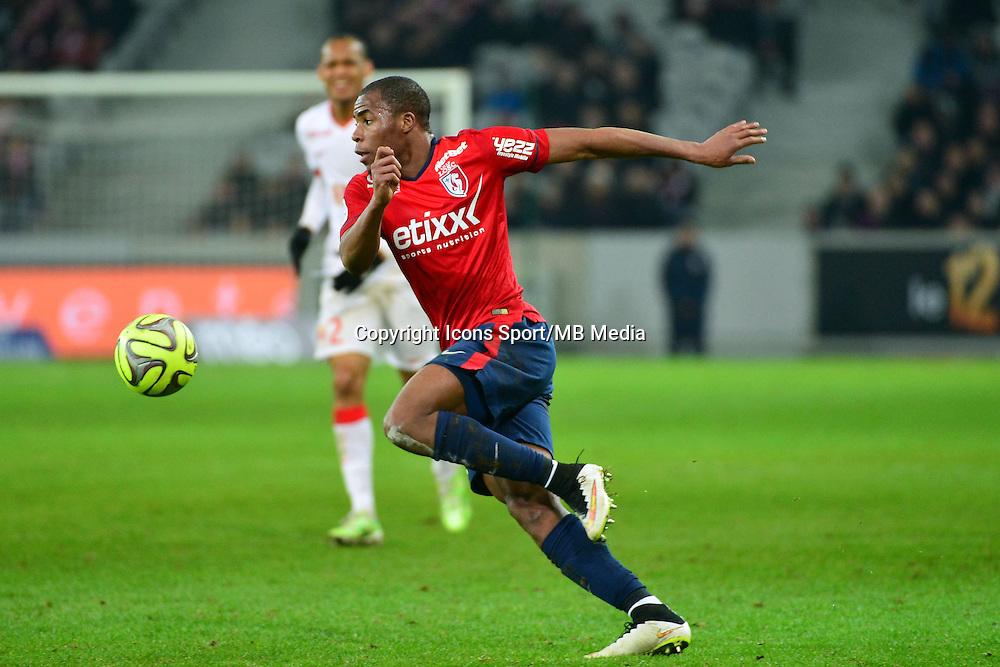 Djibril SIDIBE  - 24.01.2015 - Lille / Monaco - 22eme journee de Ligue1<br />Photo : Dave Winter / Icon Sport