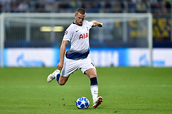 September 18, 2018 - Eric Dier of Tottenham Hotspur during the UEFA Champions League Group B match between Inter Milan and Tottenham Hotspur at Stadio San Siro, Milan, Italy on 18 September 2018. Photo by Giuseppe Maffia. (Credit Image: © AFP7 via ZUMA Wire)
