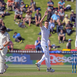 New Zealand Black Caps and South Africa Proteas day 1