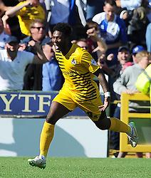 Ellis Harrison of Bristol Rovers celebrates his sides goal - Photo mandatory by-line: Harry Trump/JMP - Mobile: 07966 386802 - 15/08/15 - SPORT - FOOTBALL - Sky Bet League Two - Yeovil Town v Bristol Rovers - Huish Park, Yeovil, England.