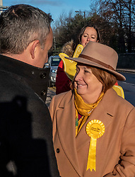 Pictured: Christrine Jardine chats to  Alex Cole-Hamilton<br />