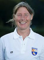 BLOEMENDAAL - Dames I , seizoen 2015-2016.  Assistent trainer coach , Wietske de Ruiter. COPYRIGHT KOEN SUYK