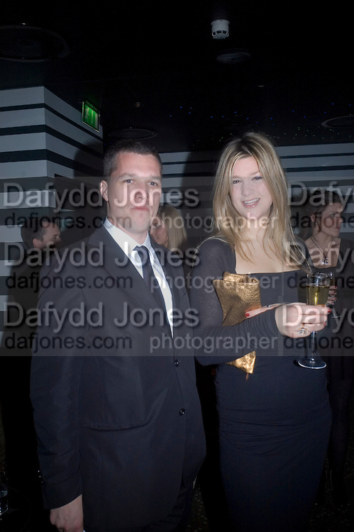 Mark Jones and Charlotte Stride, Weinstein Bafta after-party in association with Chopard. Bungalow 8. London. 10  February 2008.  *** Local Caption *** -DO NOT ARCHIVE-© Copyright Photograph by Dafydd Jones. 248 Clapham Rd. London SW9 0PZ. Tel 0207 820 0771. www.dafjones.com.