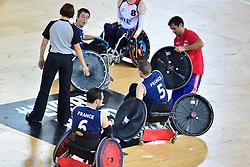 FRA v GBR Wheelchair Rugby Match  45-55