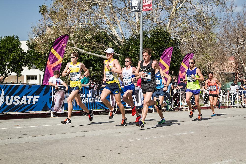 USA Olympic Team Trials Marathon 2016, BAA, Harvey, Fischer, Vassallo