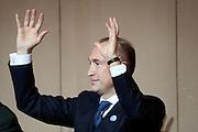 2031/01/20 Roma, nella foto Giampiero Samori', leader del MIR..In the picture Gianpiero Samori'