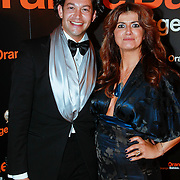 NLD/Noordwijk/20110625 - Orange Babies Gala 2011, stylist Bodo Breg en tante Martine Rustveld