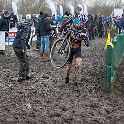 14-01-2018: Wielrennen: NK Veldrijden: Surhuisterveen<br />Maik van der Heijden