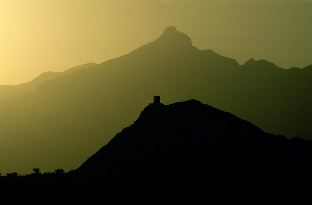 On the road to Nizwa, Oman