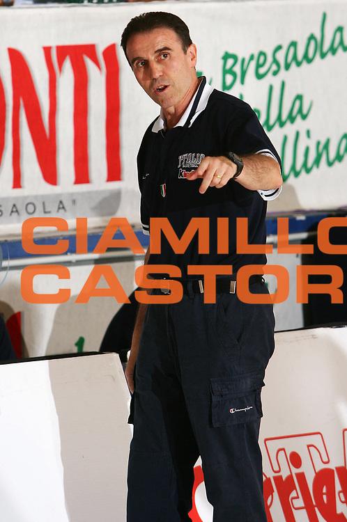 DESCRIZIONE : Bormio Amichevole Italia Turchia <br /> GIOCATORE : Recalcati <br /> SQUADRA : Italia <br /> EVENTO : Bormio Amichevole Italia Turchia <br /> GARA : Italia Turchia <br /> DATA : 19/07/2006 <br /> CATEGORIA : Ritratto <br /> SPORT : Pallacanestro <br /> AUTORE : Agenzia Ciamillo-Castoria/S.Silvestri
