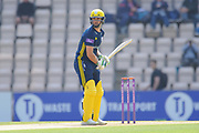 Rilee Rossouw of Hampshire during the Royal London One Day Cup match between Hampshire County Cricket Club and Essex County Cricket Club at the Ageas Bowl, Southampton, United Kingdom on 23 May 2018. Picture by Dave Vokes.