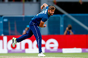 England ODI bowler Liam Plunkett in action  during the 3rd Royal London ODI match between England and India at Headingley Stadium, Headingley, United Kingdom on 17 July 2018. Picture by Simon Davies.