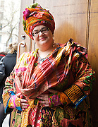 Camila Batmanghelidgjh<br /> portrait after speaking at the Reading The Riots Conference, London School of Economics, London , Great Britain <br /> 14th December 2011 <br /> <br /> <br /> Camila Batmanghelidgjh<br /> founder of Kids Company <br /> <br /> <br /> Photograph by Elliott Franks