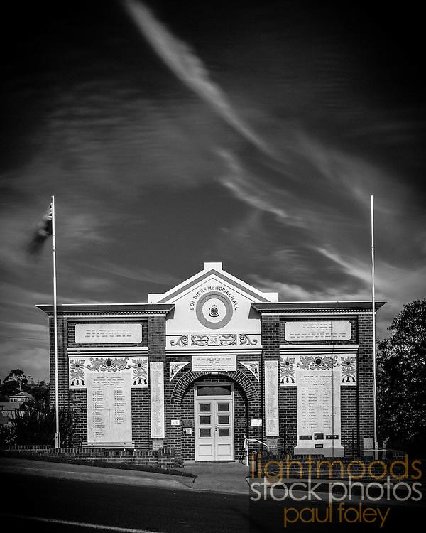 Soldiers War Memorial, Gerringong, NSW, Australia