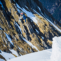 Dom Harington, Chamonix, France.