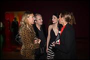 ANASTASIA WEBSTER; NICK RHODES;  NEFER SUVIO, TIPHAINE DE LUSSIS , Allen Jones private view. Royal Academy,  London. 11 November  2014.