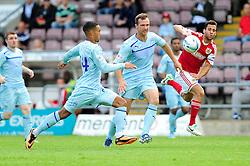 Bristol City's Sam Baldock gives chase to a loose ball  - Photo mandatory by-line: Dougie Allward/JMP - Tel: Mobile: 07966 386802 11/08/2013 - SPORT - FOOTBALL - Sixfields Stadium - Sixfields Stadium -  Coventry V Bristol City - Sky Bet League One