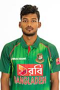 Nazmul Hossain Shanto, Bangladesh cricket team headshots ahead of their New Zealand tour. Cobham Oval, Whangarei. 21 December 2016. Copyright Image: Heath Johnson / www.photosport.nz