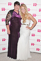 LONDON - October 13: Deborah Kerslake & Camilla Kerslake at the Pink Ribbon Ball 2012 (Photo by Brett D. Cove)