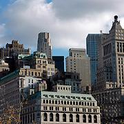 Lower Manhattan facades