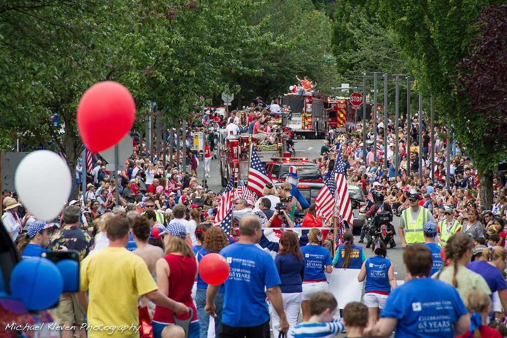 Bothell Washington's 2012, 4th of July parade. This Independence Day tradition shows the continued spirit of community involvement as we celebrate our Nations tradition of freedom and independence.