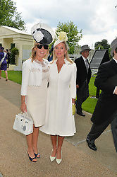 Left to right, ALICE BAMFORD and her mother LADY BAMFORD at the 1st day of the Royal Ascot Racing Festival 2015 at Ascot Racecourse, Ascot, Berkshire on 16th June 2015.