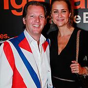 NLD/Noordwijk/20110625 - Orange Babies Gala 2011, Pauline Mol - Huizinga en partner Michel Mol