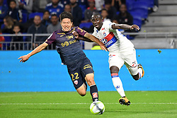 September 23, 2017 - Lyon, France - 22 Changhoon KWON (dij) - 22 Ferland MENDY  (Credit Image: © Panoramic via ZUMA Press)
