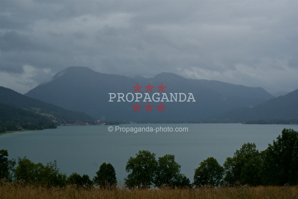 ROTTACH-EGERN, GERMANY - Wednesday, July 26, 2017: A view of Lake Tegernsee, the base for Liverpool's preseason training camp in Germany. (Pic by David Rawcliffe/Propaganda)