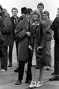 Leslie Ash and Phil Daniels on set of Quadrophenia - Brighton 1979