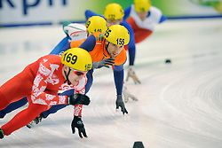14-01-2011 SHORTTRACK: ISU EUROPEAN SHORTTRACK SPEEDSKATING CHAMPIONSHIPS: HEERENVEEN<br /> Niels Kerstholt NED<br /> ©2011-WWW.FOTOHOOGENDOORN.NL