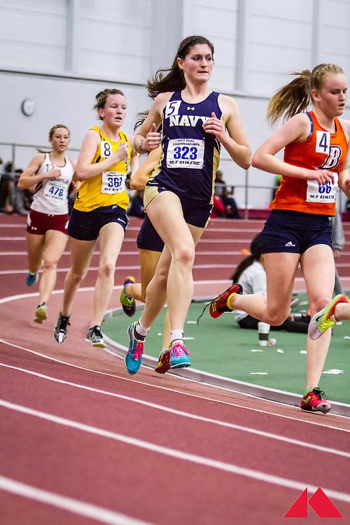 ECAC Indoor Champs, womens 5000, O'Connor, Morgan          JR Navy