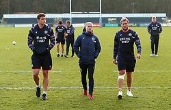 Sam Jeffries of Bristol Rugby, Mat Protheroe of Bristol Rugby and Jordan Crane of Bristol Rugby Arrive at Castle Park for the fixture against Doncaster Knights - Mandatory by-line: Robbie Stephenson/JMP - 02/12/2017 - RUGBY - Castle Park - Doncaster, England - Doncaster Knights v Bristol Rugby - Greene King IPA Championship