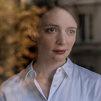 Writer Emily St. John Mandel in Paris for her book Station Eleven with Payot & Rivages Publisher.